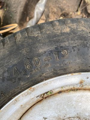 4.80-12 trailer tire and rim for Sale in Greer, SC