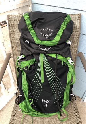 Osprey Exos 48L Hiking/Backpacking Pack for Sale in Orlando, FL
