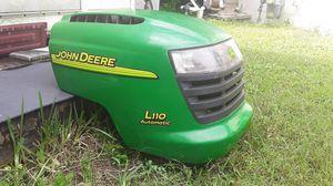 John Deere tractor mower, Hood; L110 Automatic. for Sale in Pinellas Park, FL