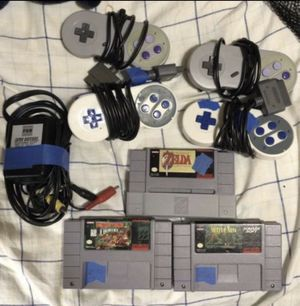 Súper Nintendo Zelda, The Secret of Mana, Donkey Kong lot!!! for Sale in Miami, FL