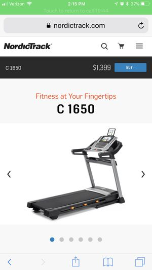 Nordiactrack c1650 treadmill for Sale in Vestal, NY