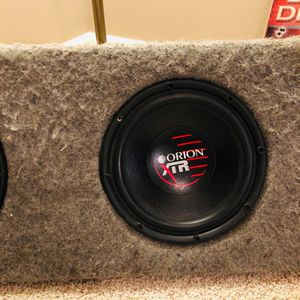 Old School Subwoofers Orion XTR's for Sale in Vancouver, WA