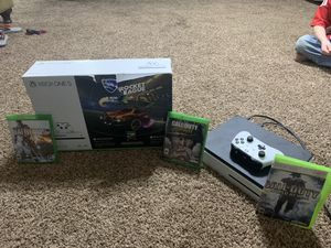 Xbox One S with console, controller, 3 games for Sale in Snellville, GA
