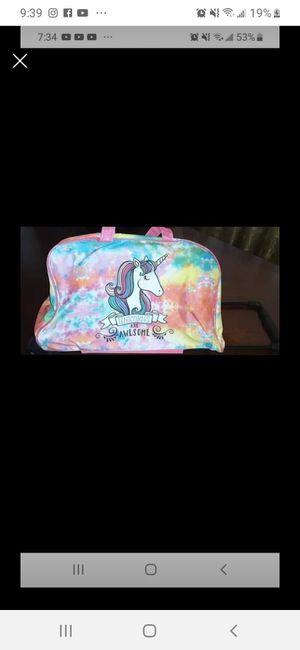 Rolling duffle bag new for Sale in San Bernardino, CA