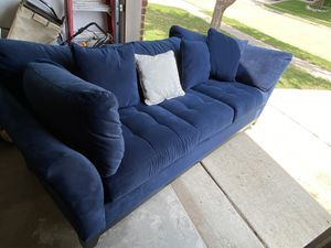 Cindy Crawford blue couch and lounge $650 for Sale in Roanoke, TX