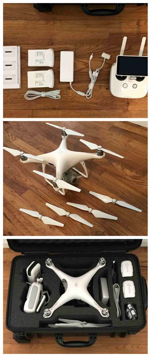 "FOR SALE !!! DJI Phantom 4 Pro Plus Camera Drone with 5.5"" Display - White for Sale in Detroit, MI"