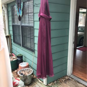 Evening Dress Size 6 With Halter Type Neck Line for Sale in Loganville, GA