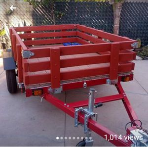 Utility trailer 4ft x 6ft (camper) for Sale in Glendale, CA