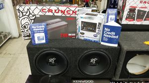 Touchscreen Stereo with Subwoofer System & Free Install for Sale in Las Vegas, NV