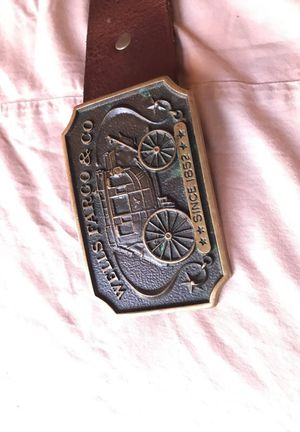 Vintage Wells Fargo & co buckle for Sale in Los Angeles, CA
