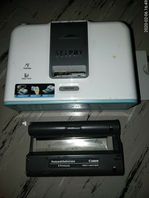 Canon selphy digital photo printer. for Sale in San Francisco, CA