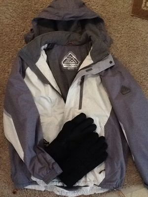 USED Men's ZERO X POSUR Winter Jacket (size XL) and Thinsulate Gloves. for Sale in Lake Hallie, WI