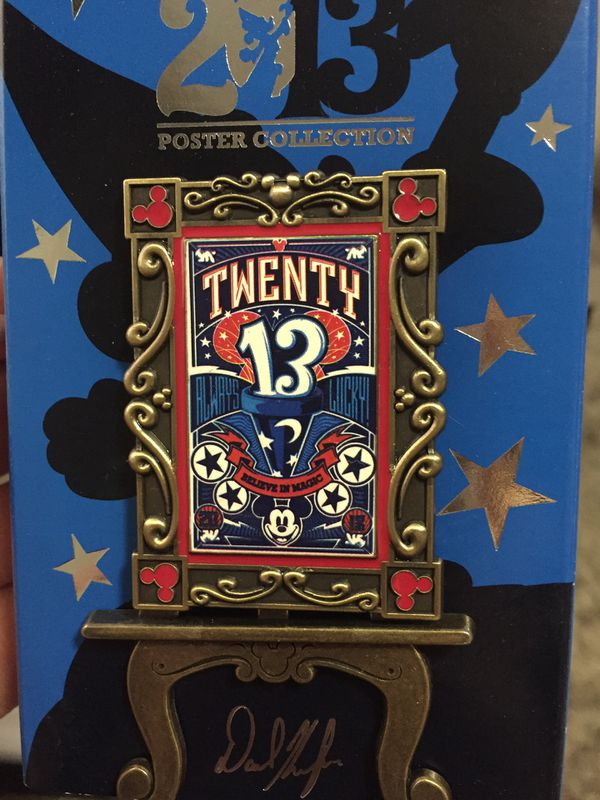 Disney Poster Collection Pin NEW LE