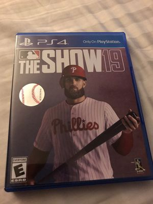 MLB The Show 2019 PS4 for Sale in Sacramento, CA