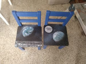 Kids toddler wood chairs handmade for Sale in Orlando, FL