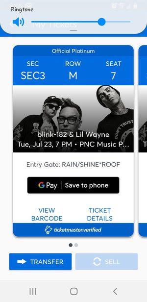 Lil Wayne Charlotte, NC 2nite Ticketmaster's transfer for Sale in Roanoke, VA
