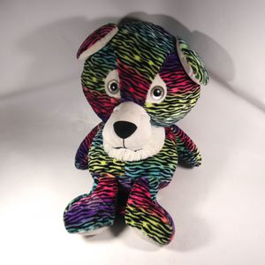 "16""x32"" Tall Rainbow Stuffed Animal Plushie Tiger Cat Toy Plush for Sale in Mesa, AZ"