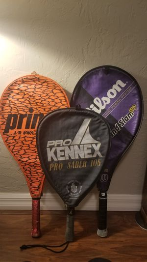 Assorted tennis rackets for Sale in Winter Park, FL