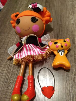 Lalaloopsy pirate doll & cat for Sale in Pinellas Park, FL