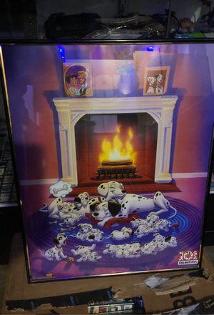 101 Dalmatians Disney poster framed for Sale in Evanston, IL