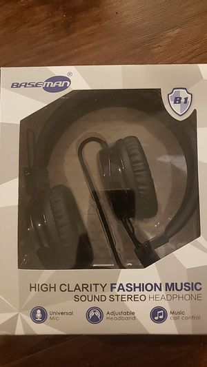 Baseman high clarity stereo headphones for Sale in Portland, OR