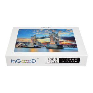 1000 Pieces Wooden Jigsaw Puzzle Landscape London Tower Education Toy Gift for Sale in Burbank, CA