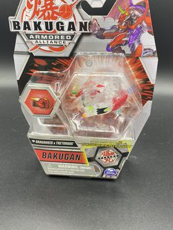 Bakugan Armored Alliance Diamond Dragonoid x Tretorous CLEAR CHASE IN HAND!!!! for Sale in Peoria,  IL