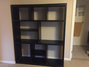 Large Black Book Shelves or Toy Storage Shelves for Sale in Oceanside, CA