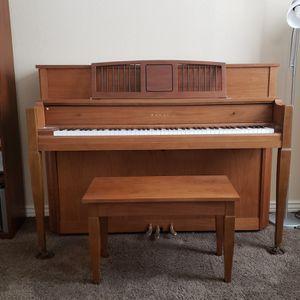 Kawai Upright Piano, solid walnut for Sale in Goodyear, AZ