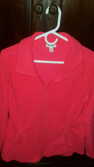 Fuchsia hot pink zip up Old Navy jacket for Sale in Federal Way, WA