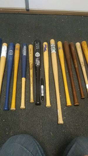Baseball Bats From the 1930's - 1990's for Sale in Seattle, WA