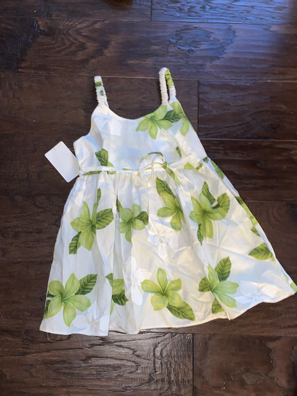 New with tags Pacific Legend Hawaiian Sun Dress Girls Size 3-4