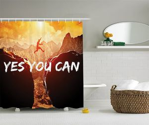"""Shower Curtain 69""""W x 70""""L Yes You Can Quote Print 7830 for Sale in Orlando, FL"""