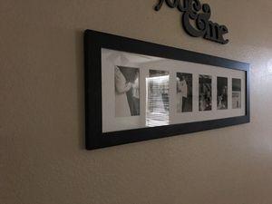 Long frame for 4x6 photos for Sale in Casa Grande, AZ