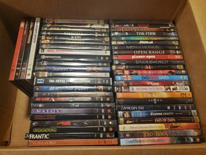 50 Variety Of DVDs - $40 for Sale in Gastonia, NC