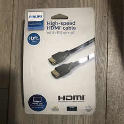 Philips High Speed HDMI Cable With Ethernet for Sale in Brea,  CA
