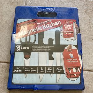 Portable Magnetic Kitchen 6 Peices New for Sale in East Brunswick, NJ