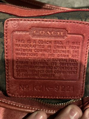 Coach purse for Sale in Rancho Cucamonga, CA