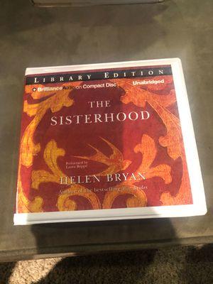 The Sisterhood unabridged CD Set by Helen Bryan for Sale in Grand Rapids, MI