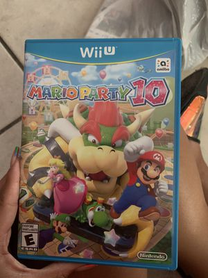 Wii U mario party 10 game for Sale in Miami, FL