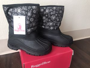 Rugged Bear Snowflake Kids Snow Boots , New, 11us for Sale in Denver, CO