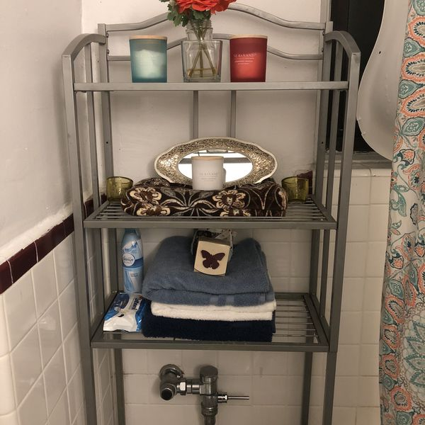 Over The Toilet Storage Shelf