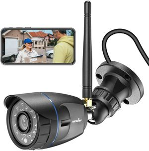 Outdoor Security Camera, Wansview 1080P WiFi Home Surveillance for Sale in Fontana, CA