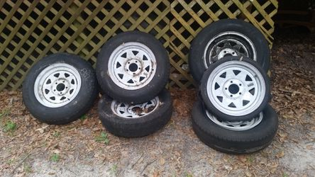 15 inch trailer rims for Sale in Orange City,  FL