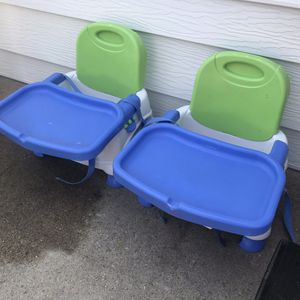 Grow-with-me Booster Seat High Chairs, set of 2 for Sale in Golden, CO