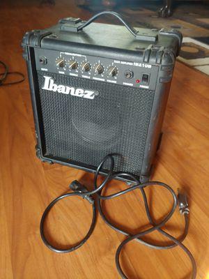 Ibanez ibz10b Bass Guitar Amplifier amp for Sale in Lake Elsinore, CA