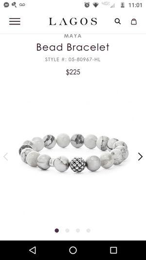 Lagos white Howlite bracelet for Sale in Lakewood, CO