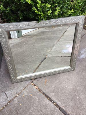 Cost Plus world market silver mirror for Sale in San Mateo, CA