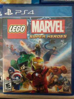 LEGO Marvel Super Heroes PS4 game for Sale in Mountain View, CA