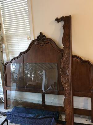 Bed Frame & Night Stand for Sale in Raleigh, NC